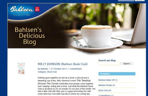 Bahlsen Blog